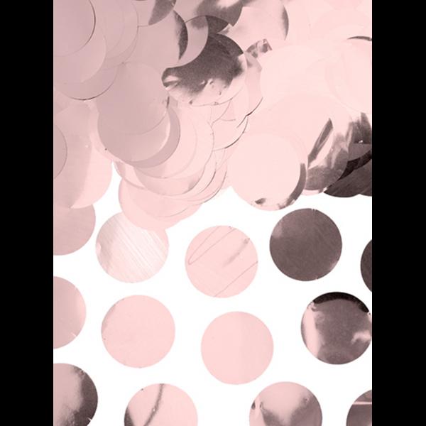 konfetti folie rosegold 15g