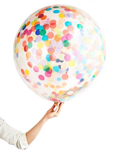 konfetti ballon bunt