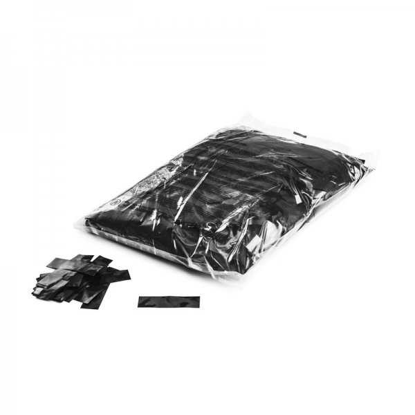 FX Konfetti metallic, schwarz
