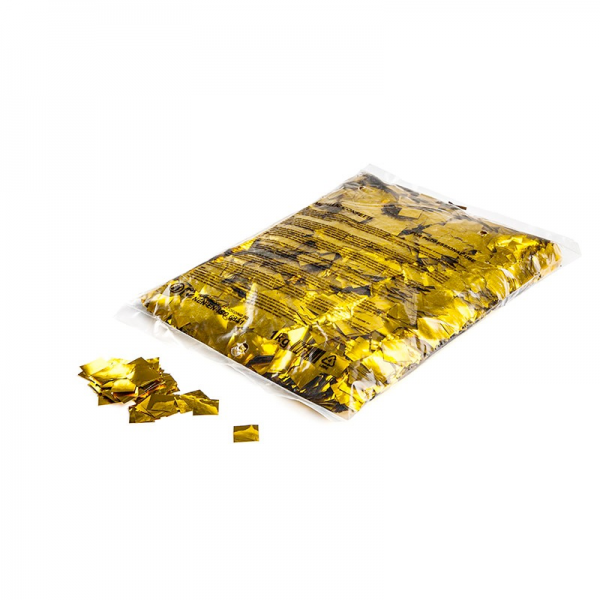 Slowfall FX Konfetti gold quadratisch