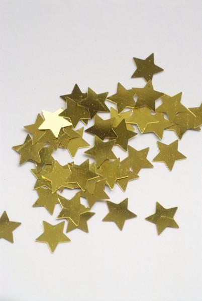Konfetti metallic Stern gold
