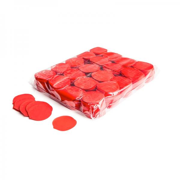 Slow Fall Konfetti Rosenblätter, rot, 1 kg