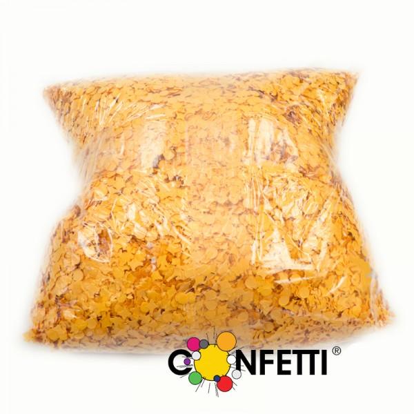Konfetti Star 1 kg orange