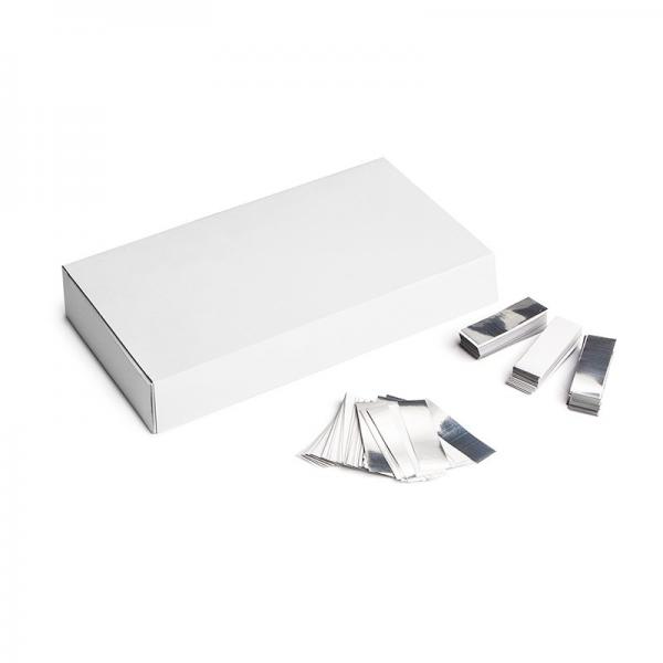 Slow Fall Konfetti weiß silber 500g Box