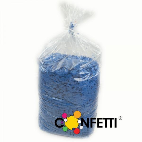 Konfetti Star 10 kg blau