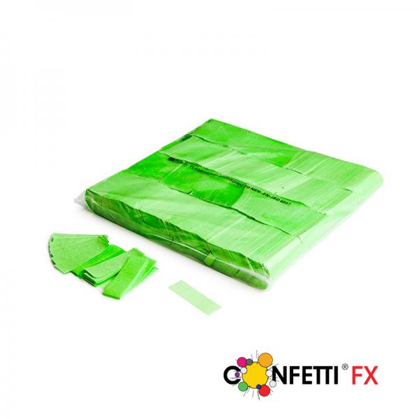 Slow Fall Konfetti, grün, UV aktiv, 1 kg