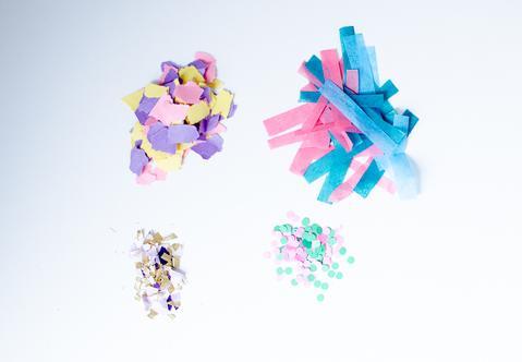 5 wege konfetti selber zu machen konfetti. Black Bedroom Furniture Sets. Home Design Ideas
