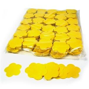 Slow Fall Konfetti, Blumen, gelb, 1 kg