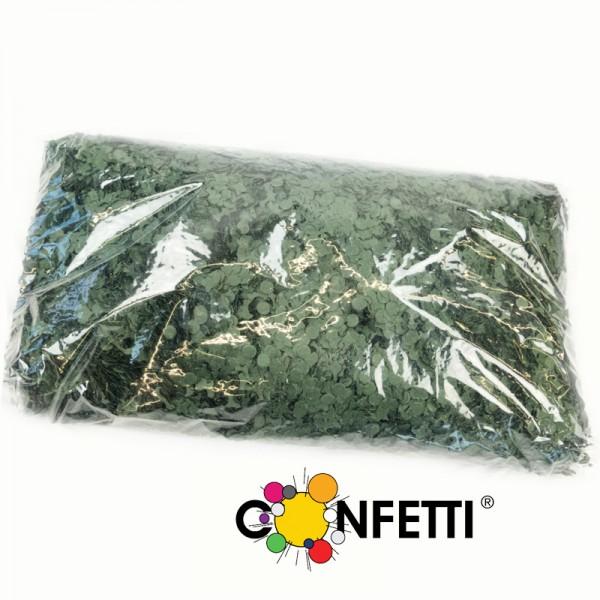 Konfetti Star 1 kg dunkelgrün