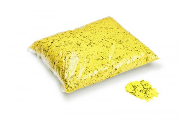 Pulverfetti 6 x 6 mm gelb