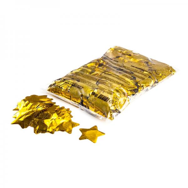 Slowfall Konfetti Sterne gold