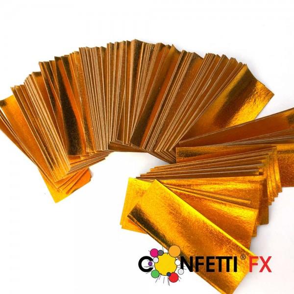 NEU: Slowfall FX Papier Konfetti gold glänzend