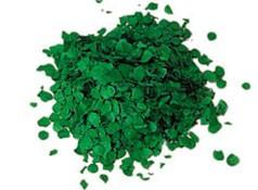 Konfetti dunkelgrün Premium 1 kg (10 mm)