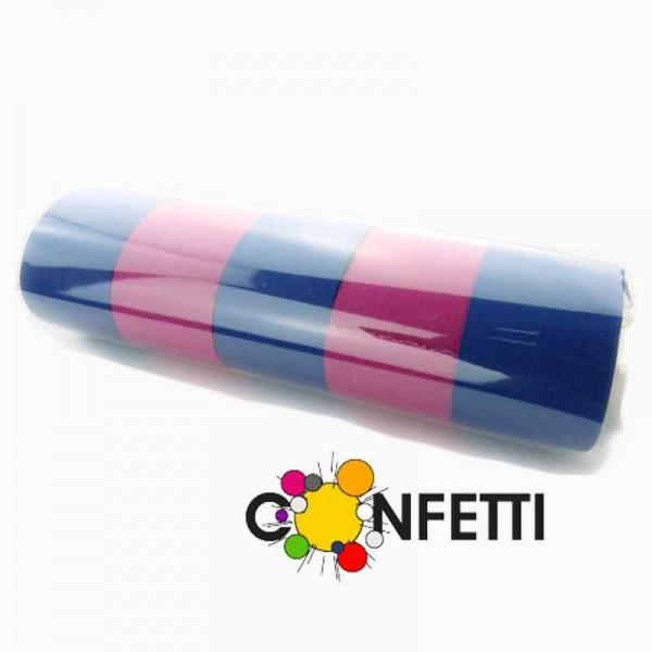 Luftschlangen blau pink