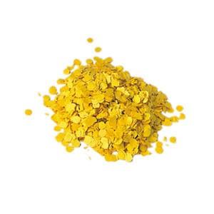 Konfetti gelb Premium 1 kg (10 mm)