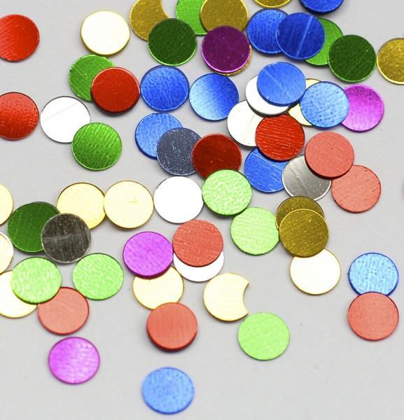 Konfetti Punkte metallic